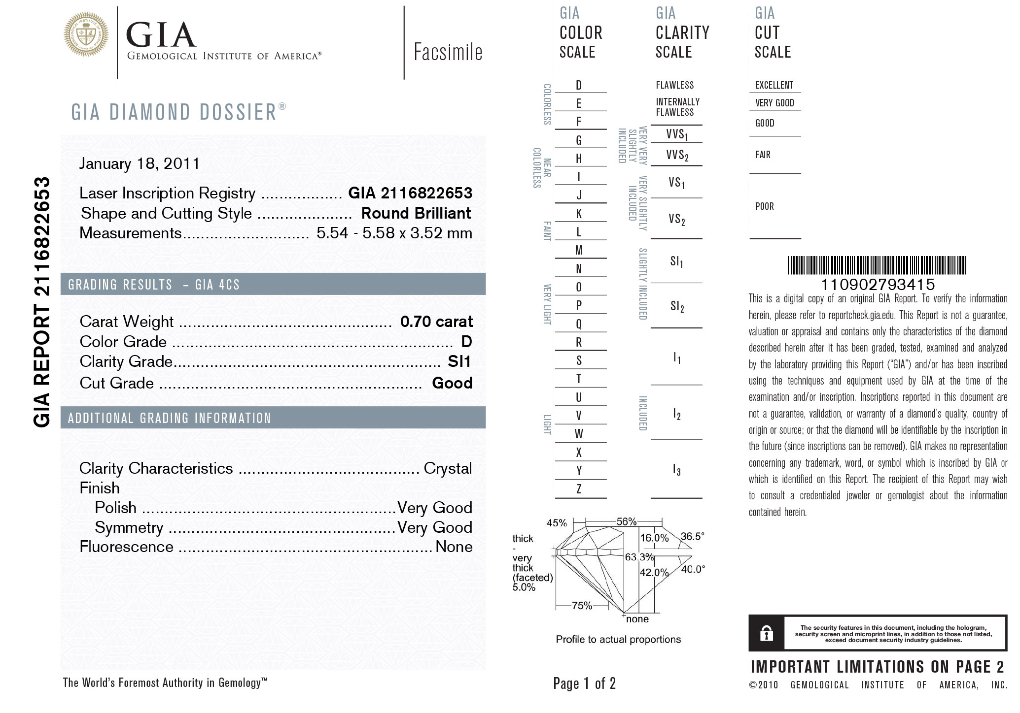 mint grading diamond a step read how gia diamonds certificates to certificate pages